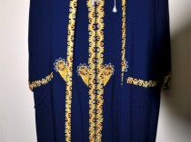 Royal Blue and Gold Robe